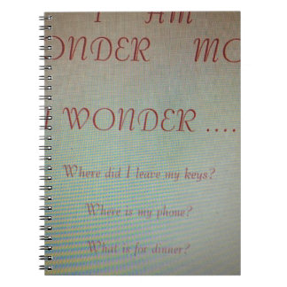 Gifts For Moms Spiral Notebook
