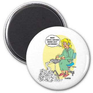 Gifts For Stenographers 6 Cm Round Magnet