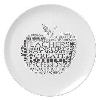 Gifts for Teachers Dinner Plates