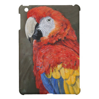 Gifts for the Parrot lover. Scarlet Macaw Cover For The iPad Mini