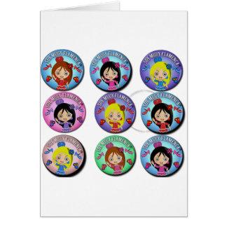 Gifts of I am Very Flamenco Multicoloured… Card
