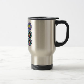 Gifts of I am Very Flamenco Multicoloured… Travel Mug