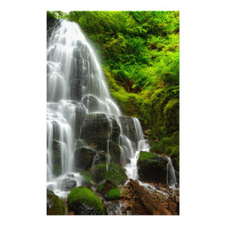 Gifts of Nature Forest Waterfall Stationery