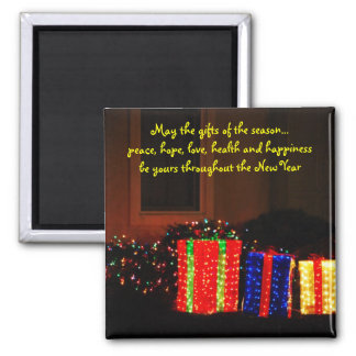 Gifts Of The Season Magnet