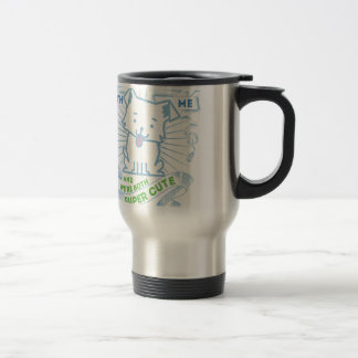 Gifts with a dog for men who are super cute travel mug