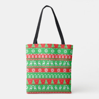 Gifts with Deeps New Year Pixel art Tote Bag