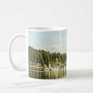 Gig Harbor Basic White Mug