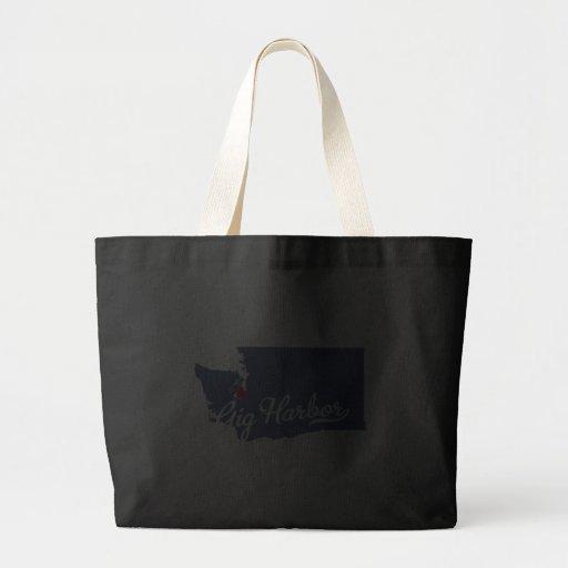 Gig Harbor Washington WA Shirt Bags