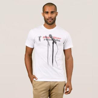 Giga-Star Records Karaoke Microphone T-Shirt