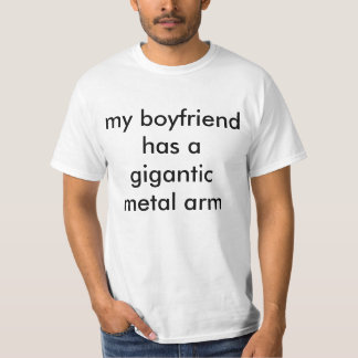 gigantic metal arm T-Shirt