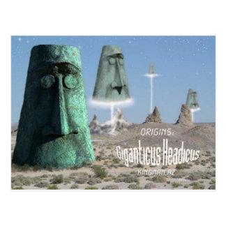 Giganticus headicus origins postcard