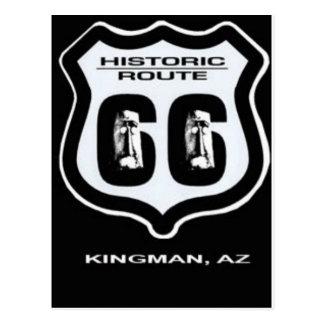 Giganticus Headicus Route 66 Kingman Arizona Postcard