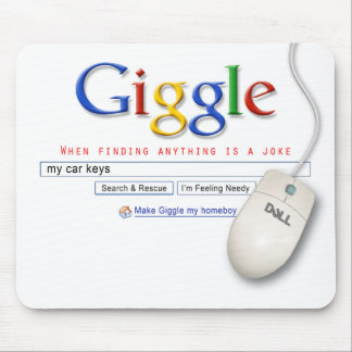 Giggle Search Mouse Pad