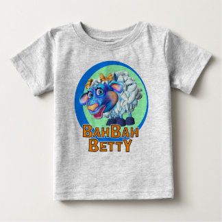 GiggleBellies Bah Bah Betty the Sheep Baby T-Shirt