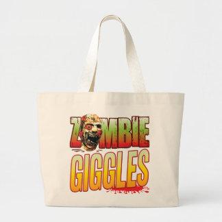 Giggles Zombie Head Tote Bag