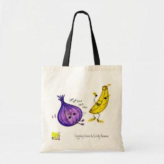 Giggling Onion and Giddy Banana Bag