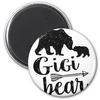 Gigi Bear Cute Great Grandma Gift Magnet