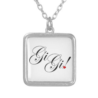 GiGi Silver Plated Necklace