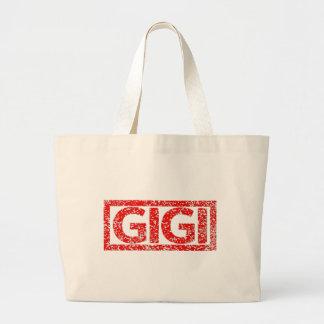 Gigi Stamp Large Tote Bag