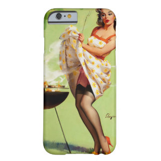 GIL ELVGREN Smoke Screen Pin Up Art Barely There iPhone 6 Case