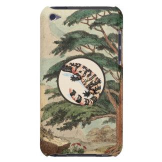 Gila Monster In Natural Habitat Illustration iPod Case-Mate Case