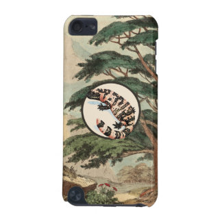 Gila Monster In Natural Habitat Illustration iPod Touch 5G Cover