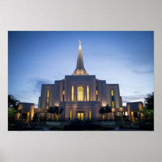 Gilbert Arizona LDS Temple Poster
