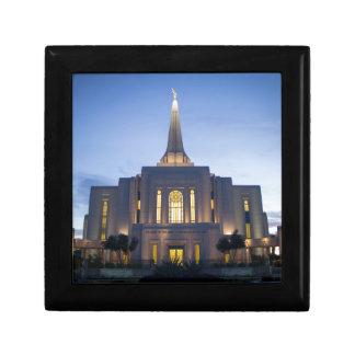 GIlbert Arizona LDS Temple Small Square Gift Box