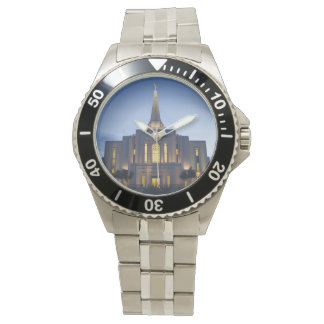 Gilbert Arizona LDS Temple Stainless Steel Watch