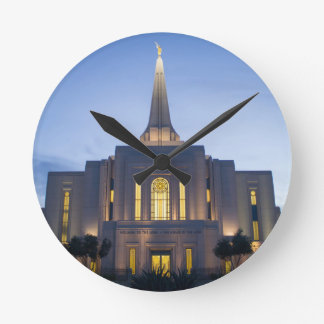 GIlbert Arizona LDS Temple Wallclock
