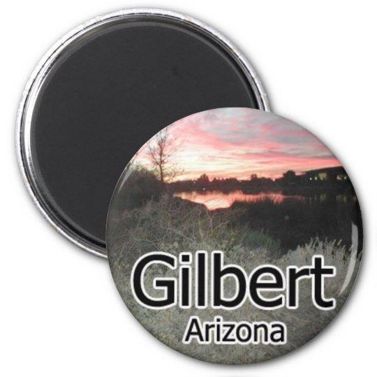 Gilbert Arizona Sunset Magnet