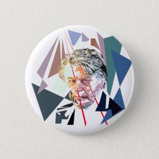 Gilbert Collard 6 Cm Round Badge