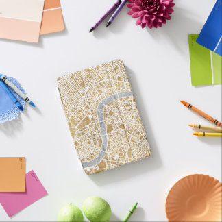 Gilded City Map Of London iPad Mini Cover
