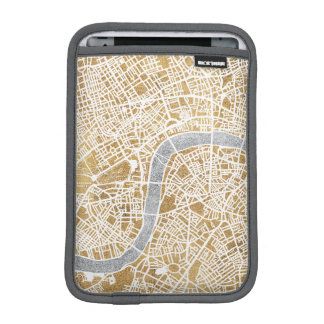 Gilded City Map Of London iPad Mini Sleeve