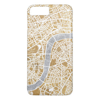 Gilded City Map Of London iPhone 8 Plus/7 Plus Case
