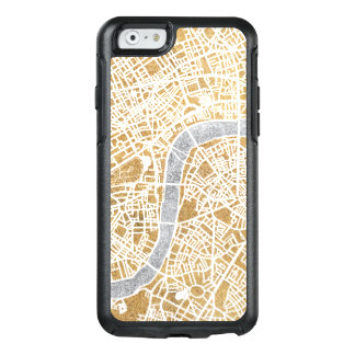 Gilded City Map Of London OtterBox iPhone 6/6s Case