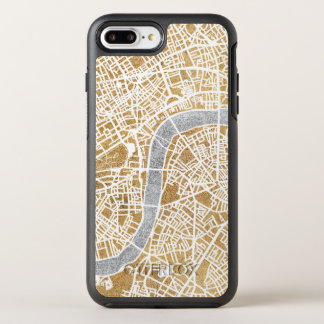 Gilded City Map Of London OtterBox Symmetry iPhone 8 Plus/7 Plus Case