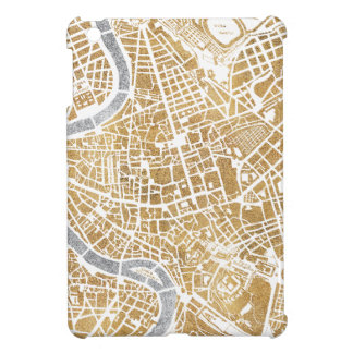 Gilded City Map Of Rome iPad Mini Cases