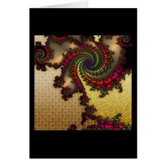 Gilded Fractal #10 Card
