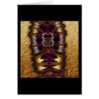 Gilded Fractal #11 Card