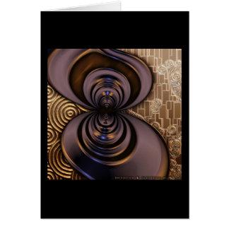 Gilded Fractal #2 Card