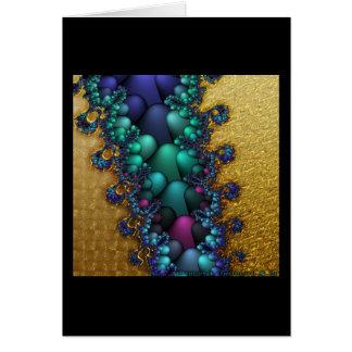 Gilded Fractal #4 Card