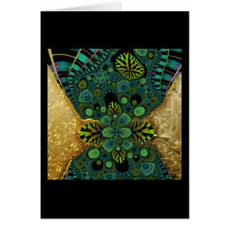 Gilded Fractal #5 Card