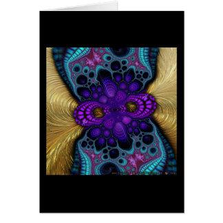 Gilded Fractal #8 Card