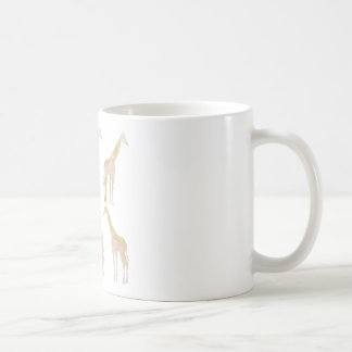 Gilded Giraffes 1 Coffee Mug