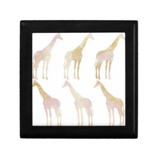 Gilded Giraffes 1 Gift Box