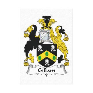 Gillam Family Crest Canvas Print