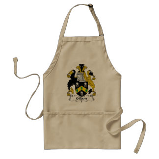 Gillam Family Crest Standard Apron