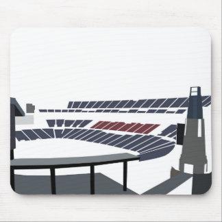 Gillette stadium mouse pad