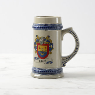 Gillis Coat of Arms Stein - Family Crest
